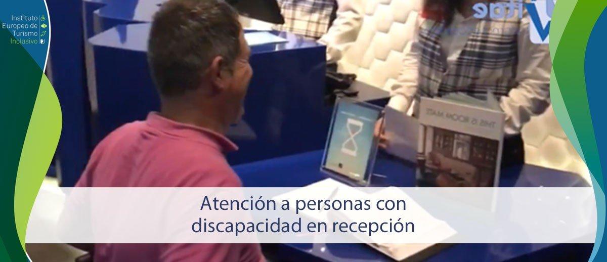 Curso Atención a personas con discapacidad en recepción