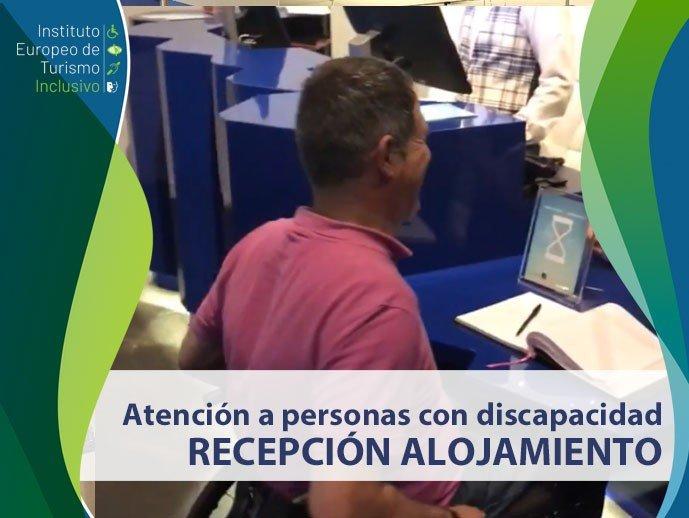 Curso Cómo atender a clientes con discapacidad en recepción