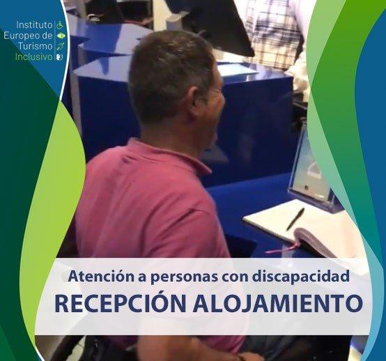 Curso atención a personas con discapacidad. Recepción