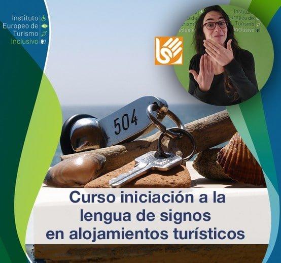 Curso iniciación a la lengua de signos en alojamientos turísticos