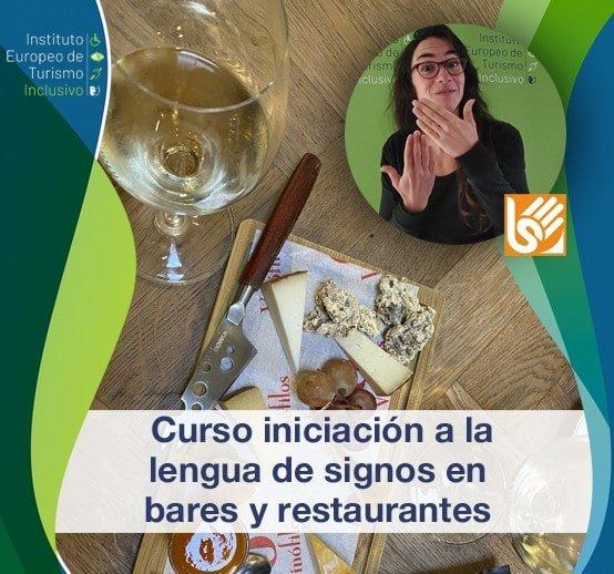 Curso iniciación a la lengua de signos en bares y restaurantes