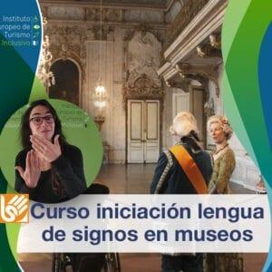 Curso iniciación a la lengua de signos en museos