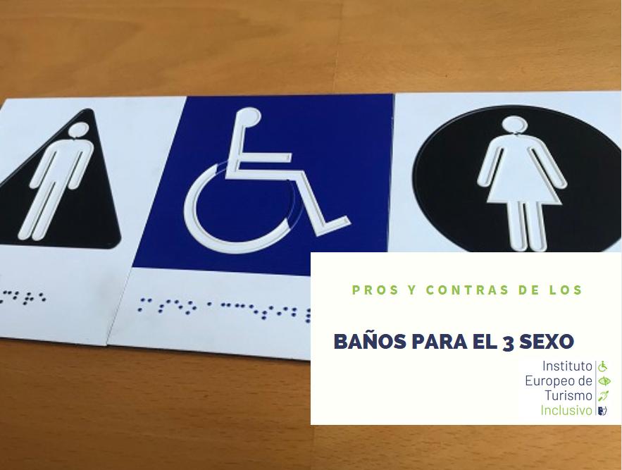 Pros y contras de los baños para el tercer sexo
