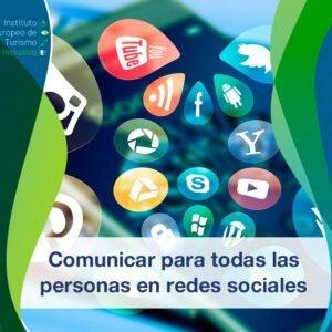 Comunicar para todas las personsa en redes sociales