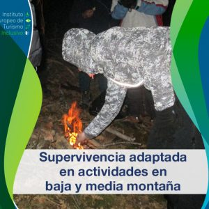Supervivencia adaptada en actividades de baja y media montaña
