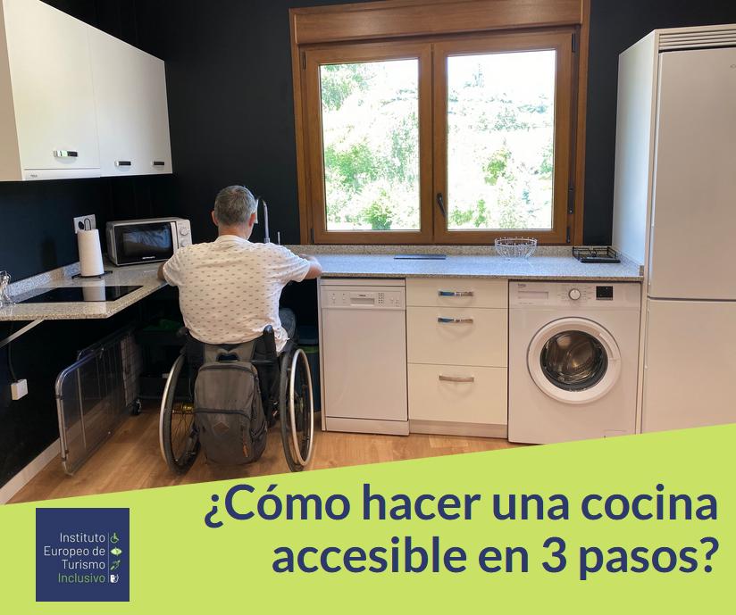 Cómo hacer una cocina accesible en 3 pasos