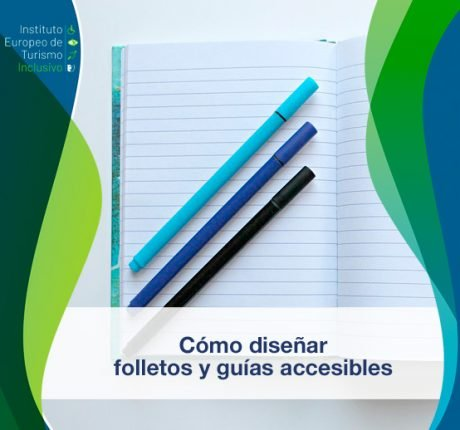 Cómo diseñar folletos y guías accesible